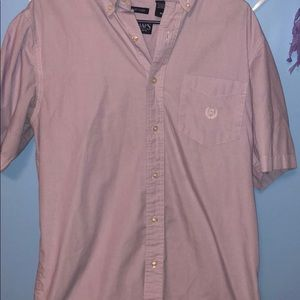 Chaps Shirts - Men's chaps short sleeved button up